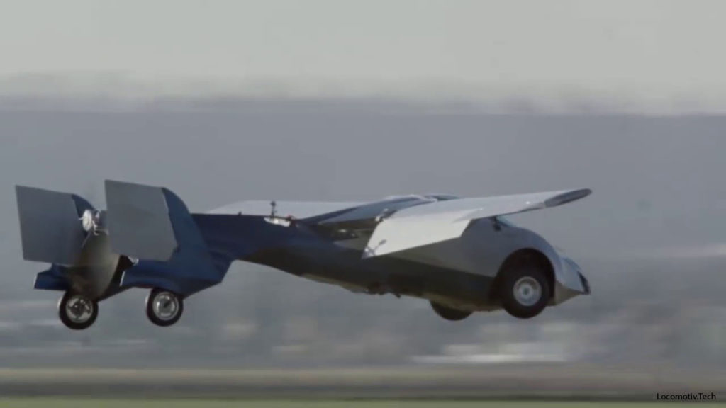 AeroMobil 4.0 in the air