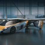 AeroMobil 4.0 with wings open
