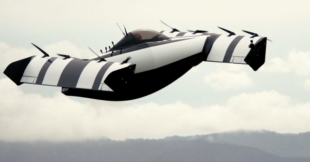 Opener Blackfly - flying car