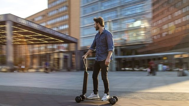 etron audi scooter