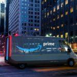 Amazon Rivian Electric Van