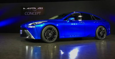 Toyota Revamps Fuell Cell Sedan Amid Challenges Imposed by Tesla