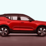 red volvo xc40 recharge