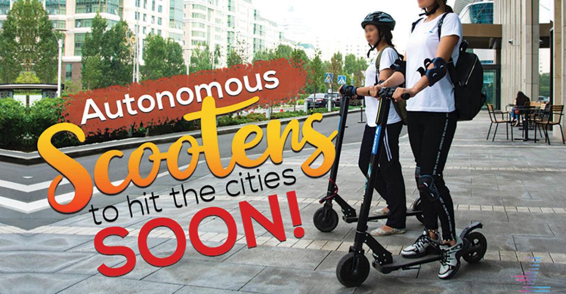 Autonomous Scooters coming soon