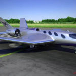 South African business jet pegasus first to take-off and land vertically
