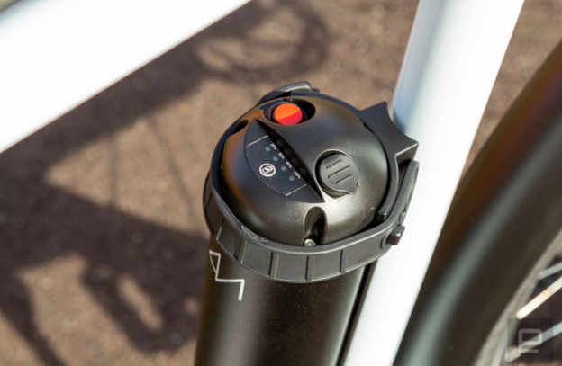 Extra battery of the ebike
