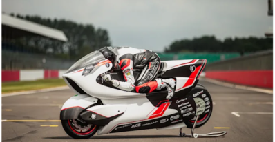 The world's fastest electric motorcycle has a new aerodynamic challenger
