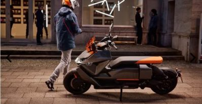 BMW's futuristic electric scooter is straight out of anime